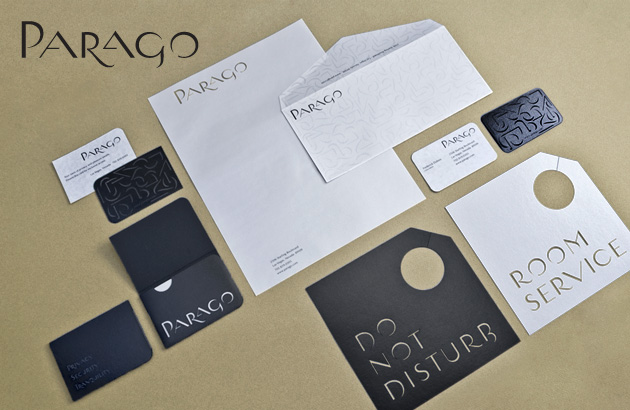 Parago concept branding project all items