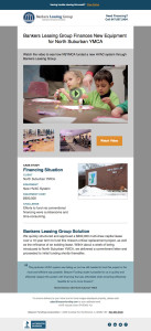 Responsive email for general audience, mobile view
