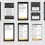 Designer Storyboard for Mobile App, Page 2