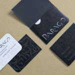 Parago concept branding project member card