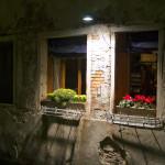 Venice Italy restaurant window