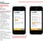 Mobile App Specifications for Developers, Calculator Page