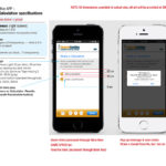 Mobile App Specifications for Developers, Share Page 1